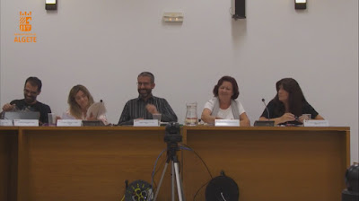 Concejales en el pleno municipal del Ayuntamiento de Algete