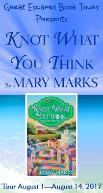 Mary Marks: here 8/13/17