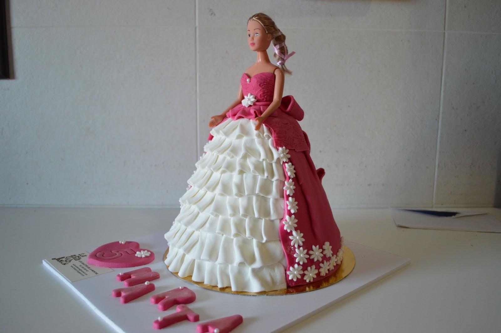 pastis fondant, barbie