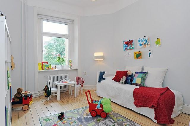 Dormitorio infantil escandinavo 3