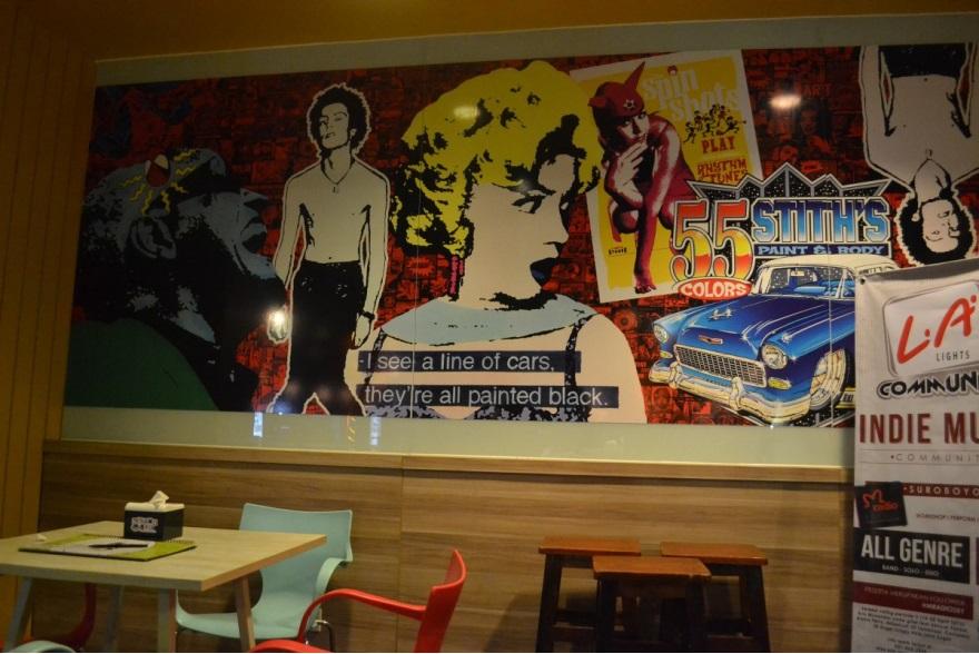 Warna Dinding Cafe - Rumah Minimalis Modern