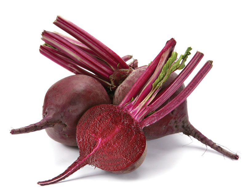 Beet as a natural remedy against aging and anemia