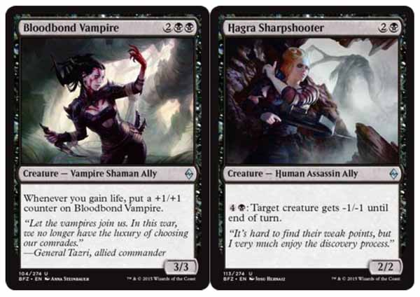 Magic the Gathering Adventures: BFZ Review Part 11: Black ... Planeswalker Ally Deck