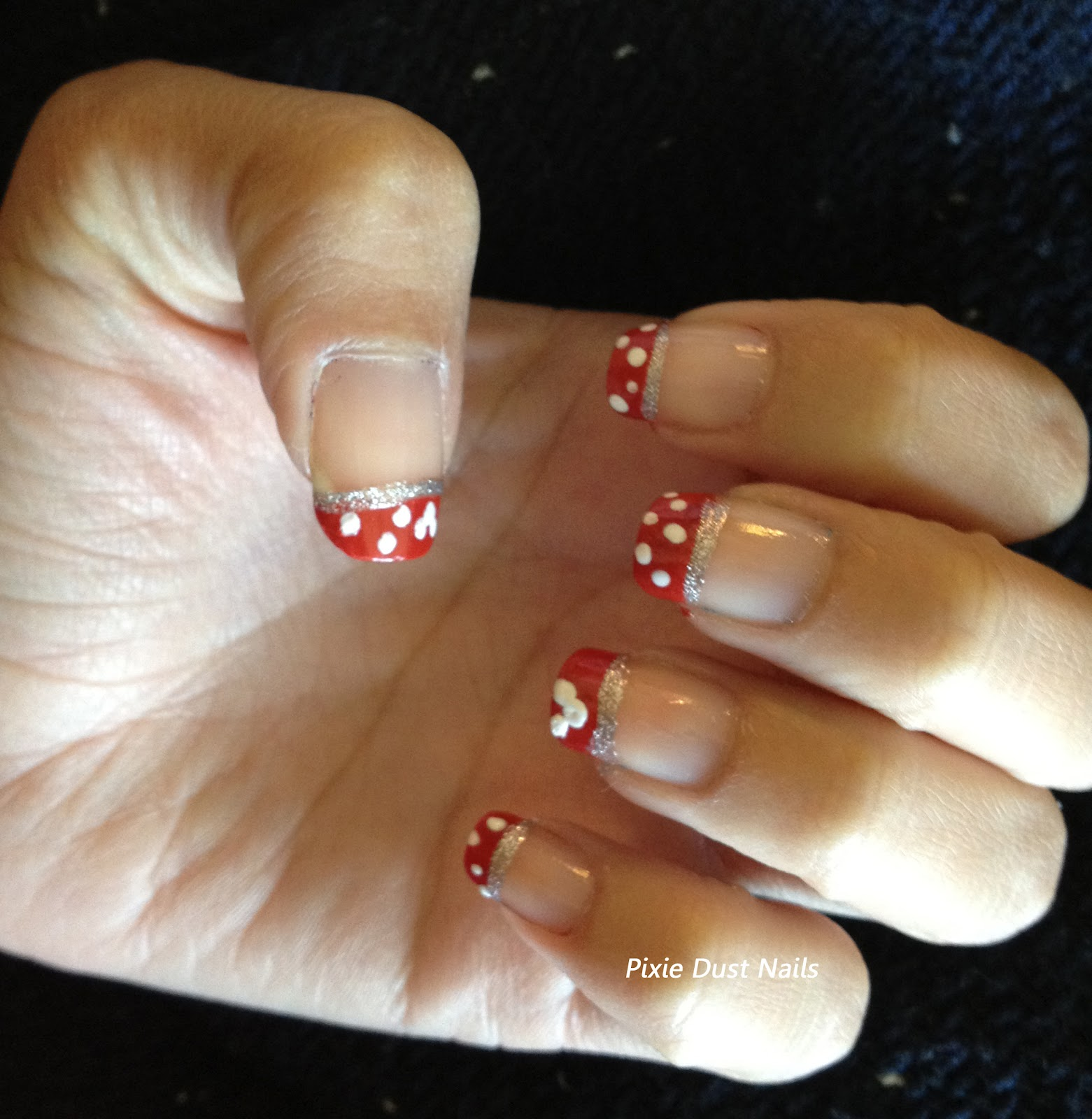Guest Post from Pixie Dust Nails: Minnie Mouse Nails for Your ...