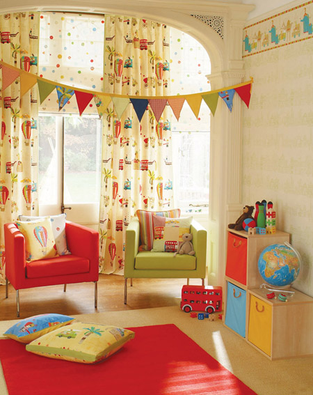 inspirations for modern kids bedroom good curtian for