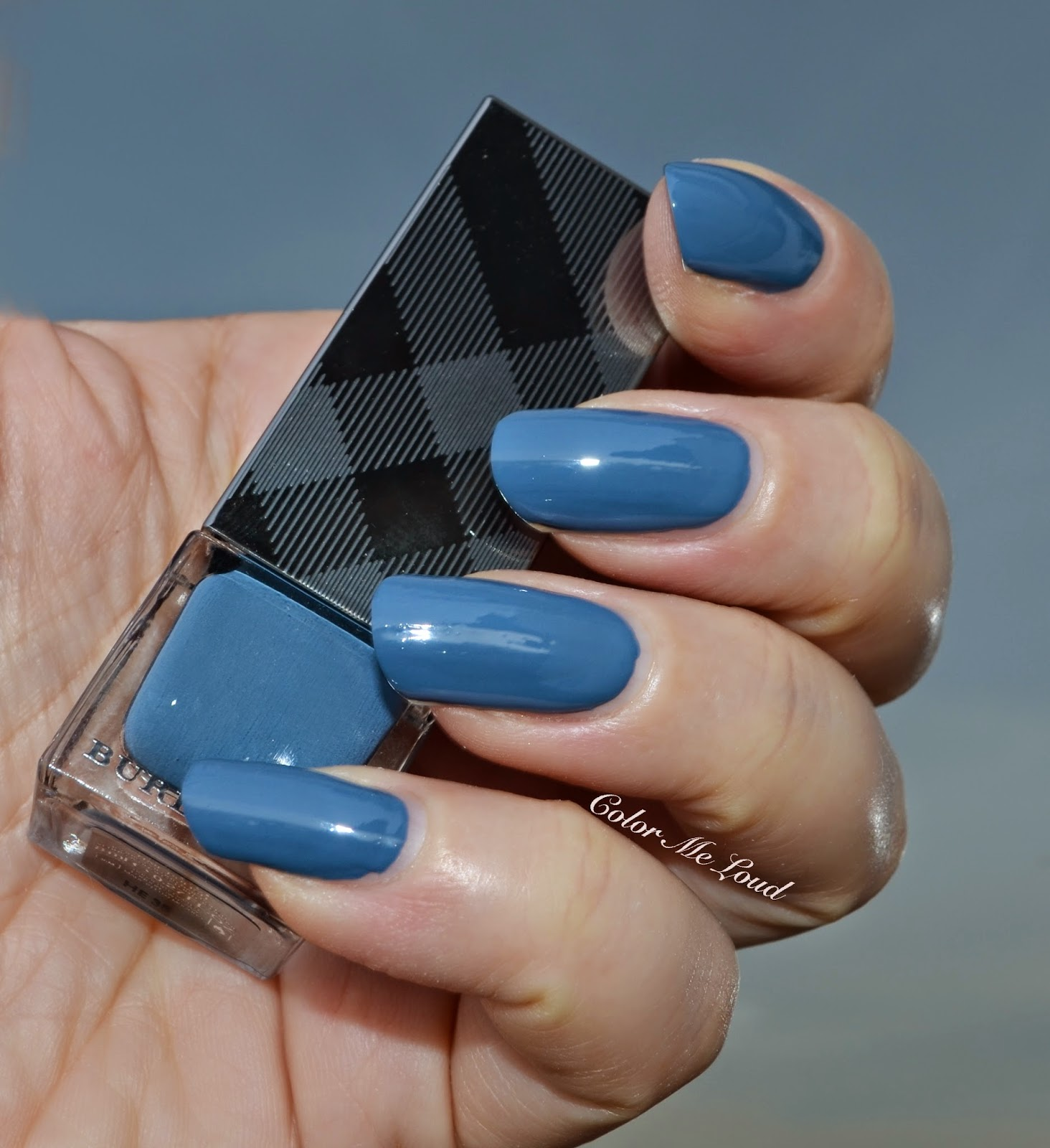 Burberry Nail Polish #431 Stone Blue