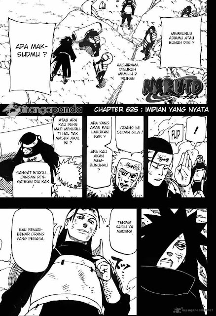"Download Komik Naruto Chapter 625 ""Impian yang Nyata"" Bahasa Indonesia"