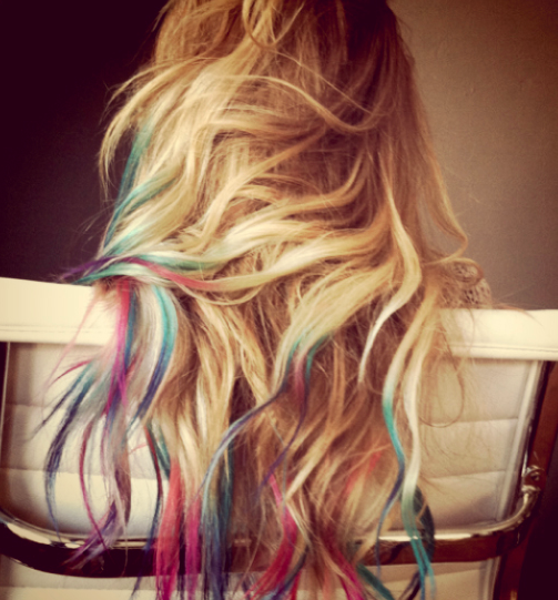 pastel dip dye .love