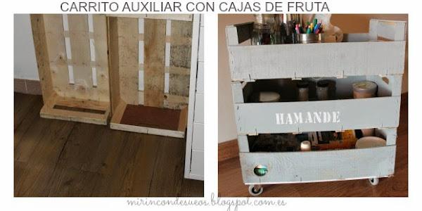 Como hacer un carrito LOW-COST con cajas Decoraciu00f3n / Casas con vida ...