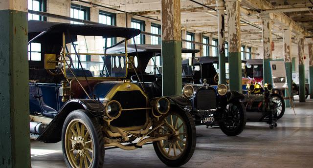 Ford factory wedding