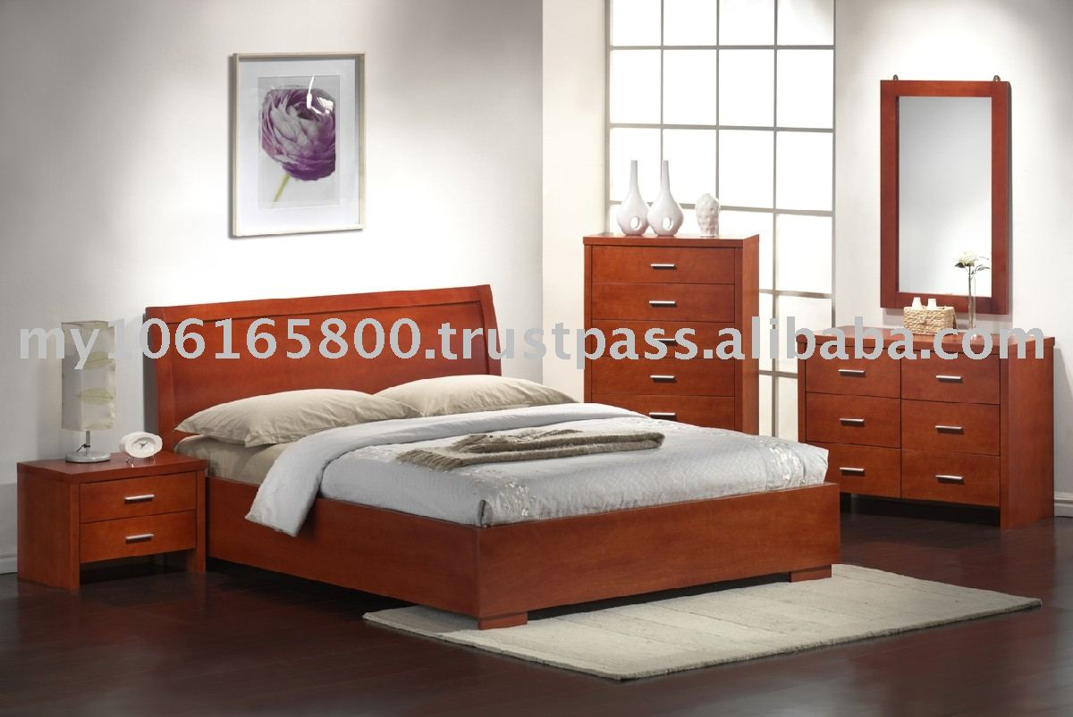 Wooden bedroom furniture furniture Wooden bed furniture