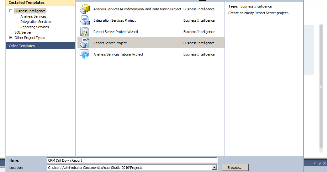 Crm musings crm 2011 ssrs drill down reports wajeb Images