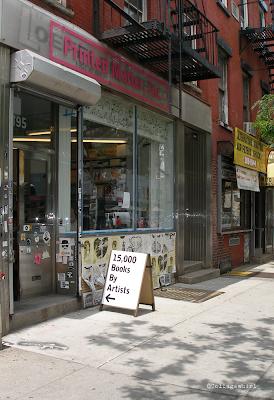 artist's bookstore NYC