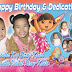 Dora Birthday Layout
