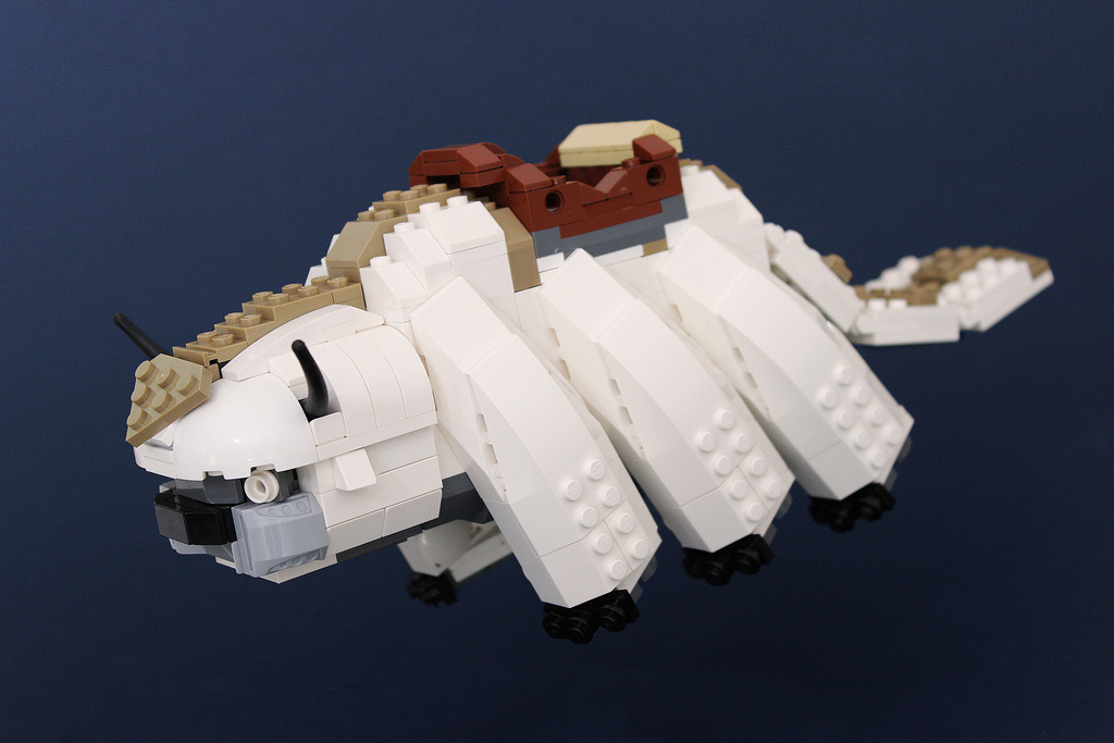 LEGO Version of Appa from Avatar: The Last Airbender