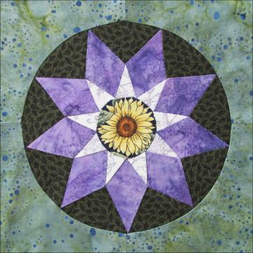 quilts bay quilt sunflower arts fiber betsie vintage