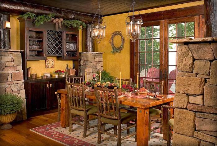 Кухня для загородного дома