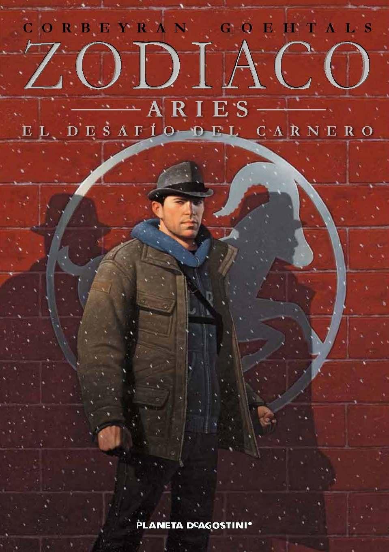 """Portada """"Zodiaco nº1 - Aries y El desafío del Carnero"""""""