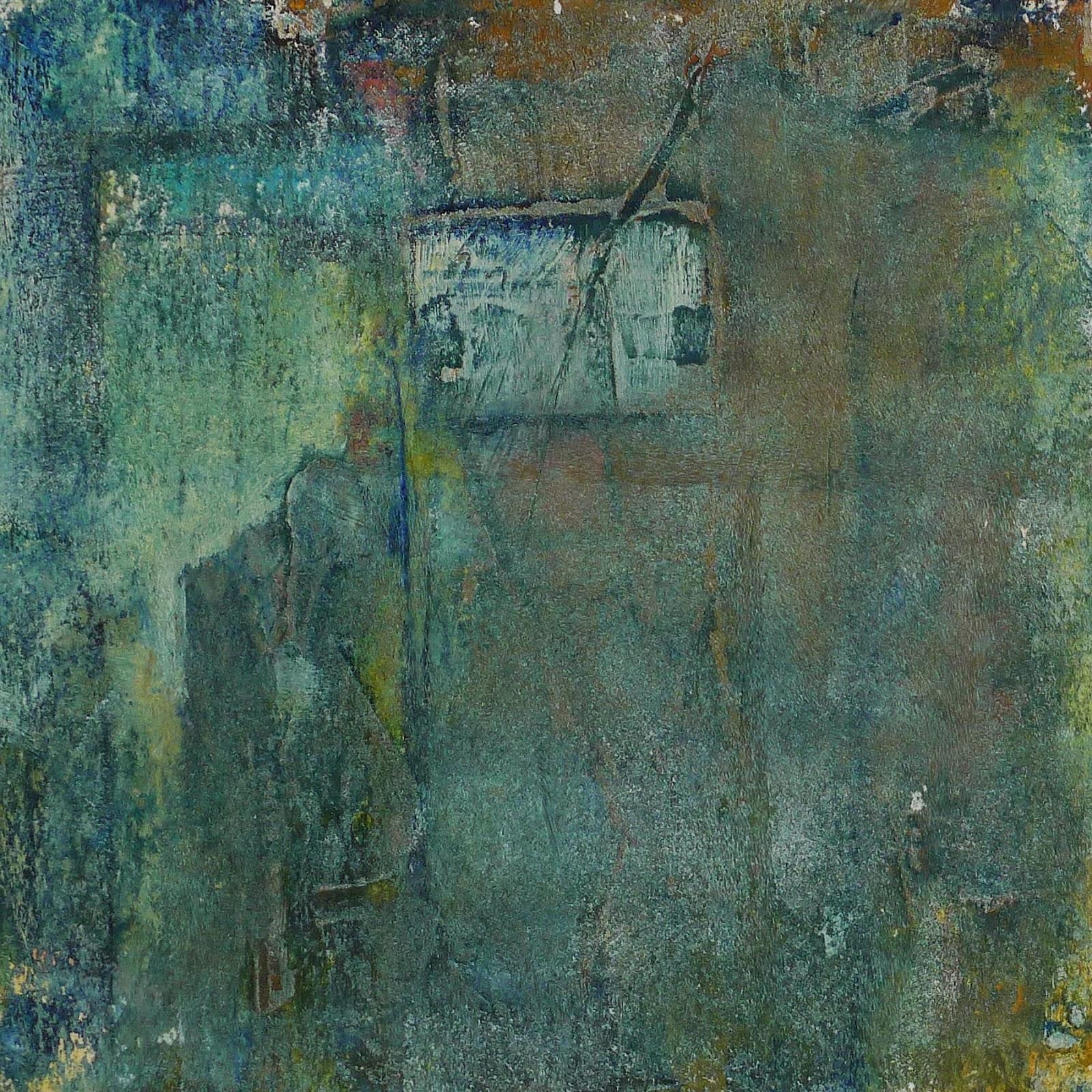 Speakeasy - Artist Kathy Elliott   http://kathyelliottart.blogspot.com  #oilandcoldwax # abstractart
