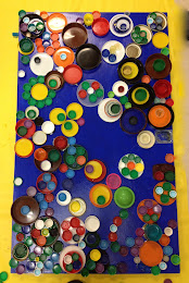 Bottle Cap Wall Art