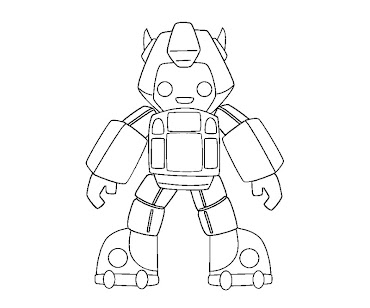 #21 Transformers Coloring Page