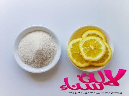 وصفة السكر والليمون السهلة لتبييض اليدين