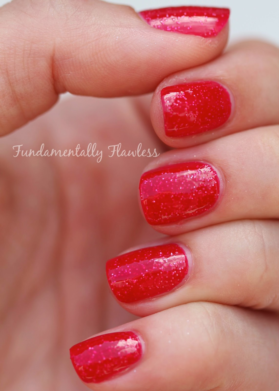 Models Own Sweet Shop Collection Rhubarb and Custard Swatch