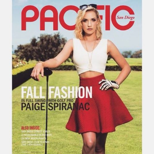 Golf @ Paige Spiranac - Pacific Magazine, September 2015 Issue