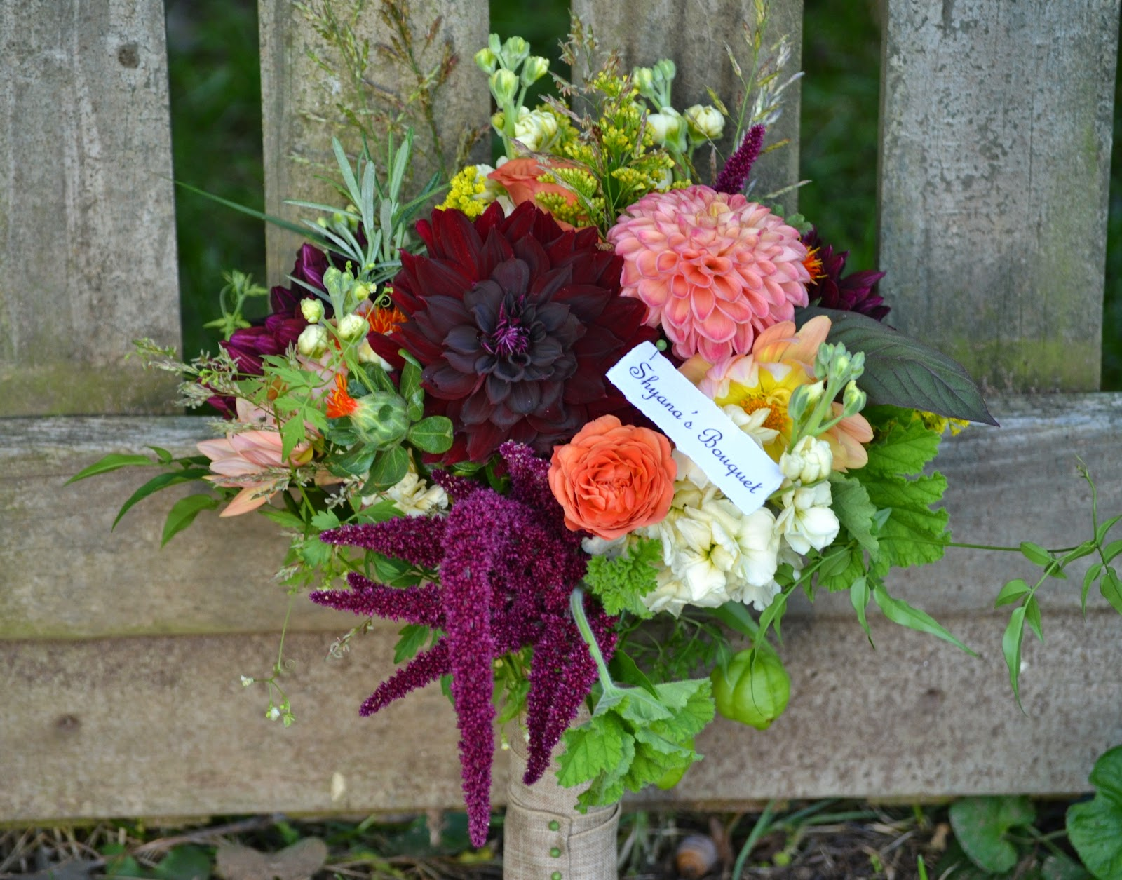 Wedding Flowers from Springwell: October 2014
