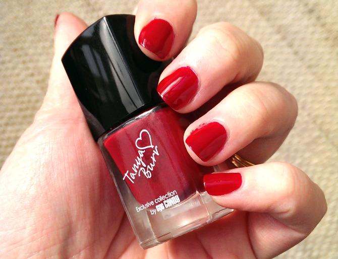 Tanya Burr nail polish in Riding Hood