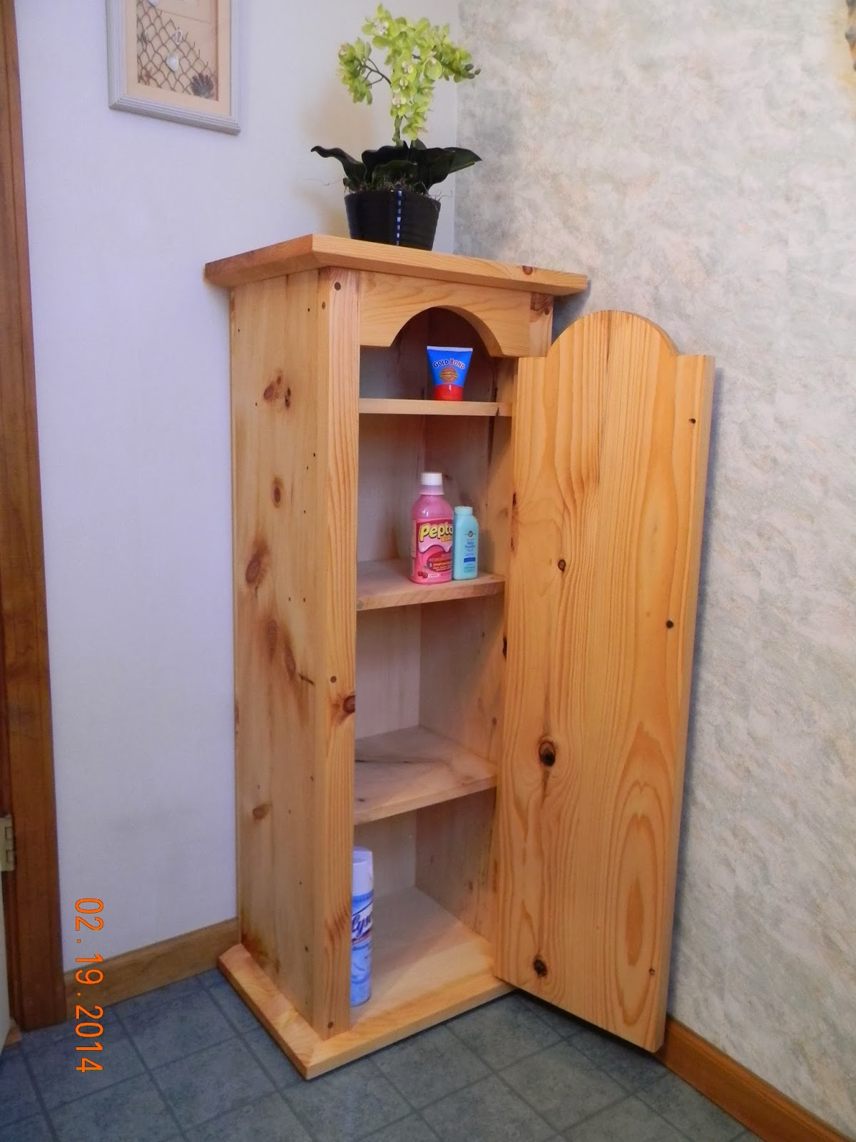 oakenheart woodcraft pine bathroom cabinet