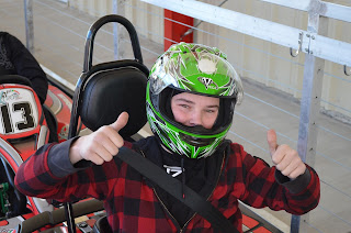 Kids love go-kart racing in Pigeon Forge