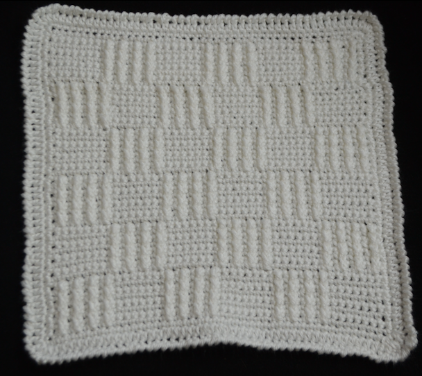 Crochet Baby Blanket Basket Weave Pattern : Love you more than a bus: Basket Weave Crochet Blanket