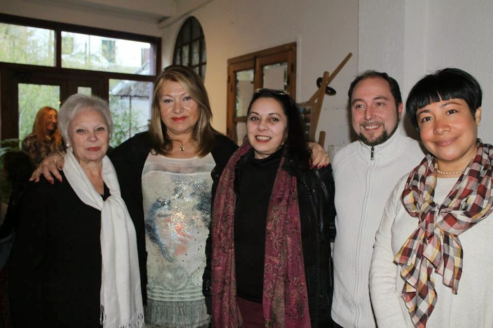Poetas del recital en Monachil