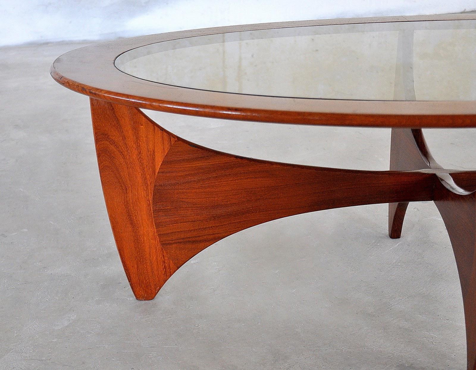 select modern ib kofod larsen danish modern astro coffee table