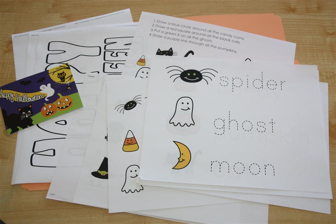 Worksheets and Mini Activity Book (Language/Math/Art) . The color ...