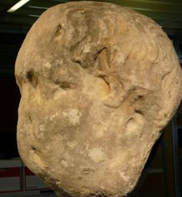 Chichester stone is Emperor Trajan say archaeologists