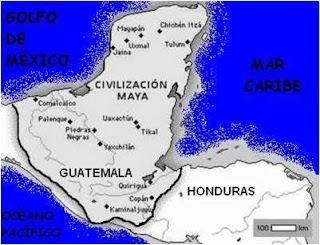 Cultura maya ubicacion geografia for Cultura maya ubicacion