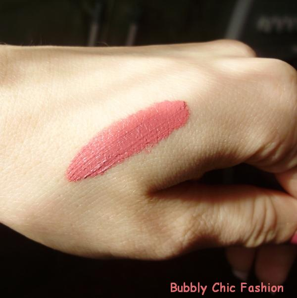Manhattan soft mat lipcream 56K bubbly chic fashion