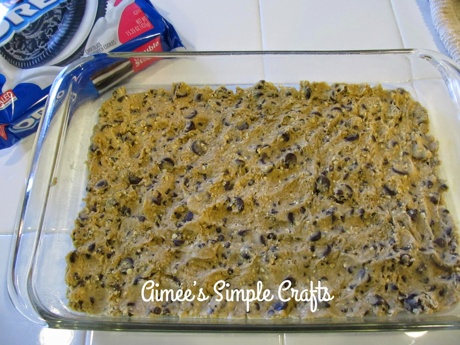 ... Simple Crafts: Oreo and Caramel Stuffed Chocolate Chip Cookie Bars