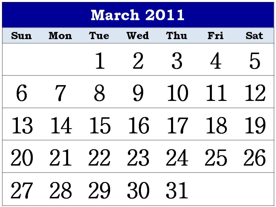 calendar for 2011 march. calendar 2011 march and april.