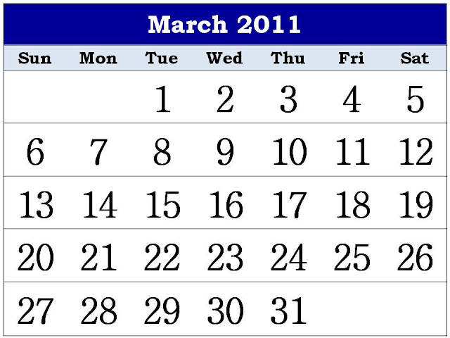 2011 calendar with bank holidays printable. Free Printable Calendar 2011