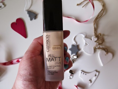 Catrice All matt plus - Shine Control 020 Nude beige kreminė pudra