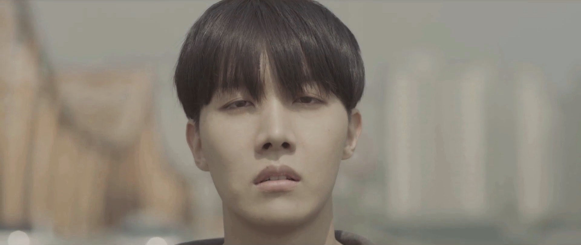 Bangtan's J-Hope in I Need You MV