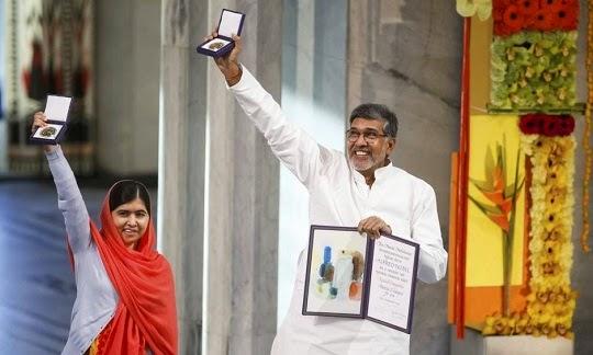 O Nobel da paz 2014