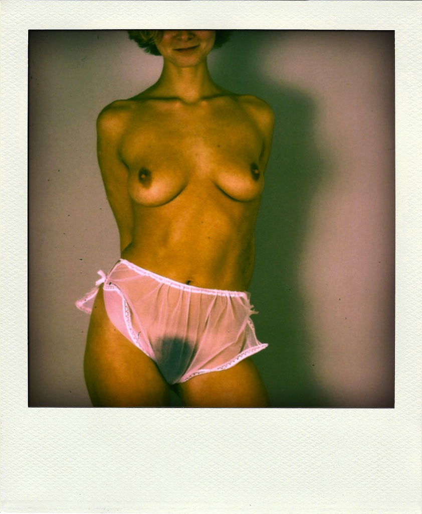 Vintage polaroid girlfriend nudes