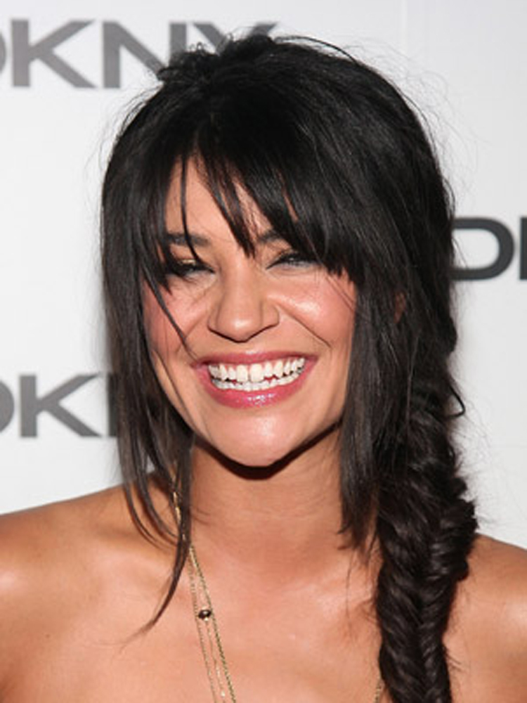 Popular Celebrity Bang Hairstyles Jessica Szohr
