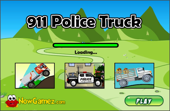 Truck Game : 911 Police Truck