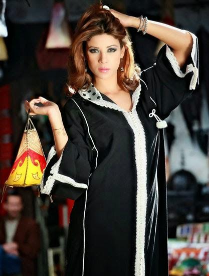 Djellaba marocaine noire - VIP gamme 2014