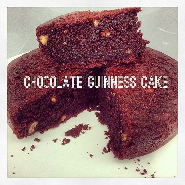 Life can be simple: Chocolate Guinness Cake